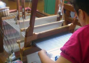 織り子さん!
